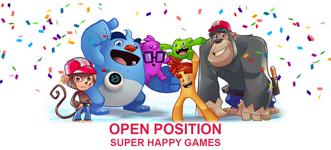 Open Positions at Super Happy Games